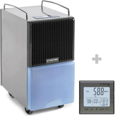 Deumidificatore TTK 120 E + Rilevatore della qualità dell'aria (CO₂) BZ25