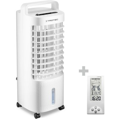 Aircooler, raffrescatore, ventilatore e umidificatore PAE 11 + Termoigrometro e stazione meteo BZ06