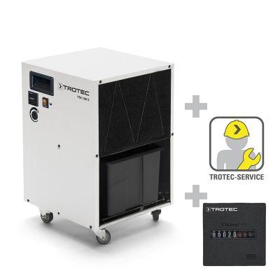 Deumidificatore TTK 140 S + Contatore delle ore operative montaggio incluso