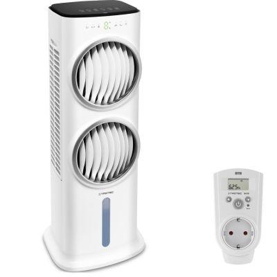 Raffrescatore, ventilatore, umidificatore PAE 45 + Igrostato a presa BH30