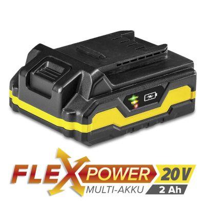 Batteria di ricambio Flexpower 20 V 2,0 Ah