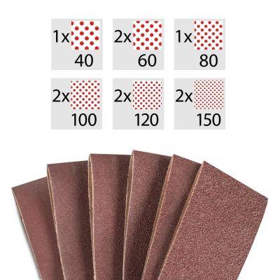 Set di nastri abrasivi da 10 pezzi