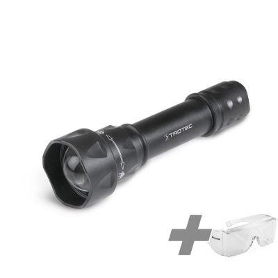 Torcia UV-Torchlight 15F + Occhiali protettivi