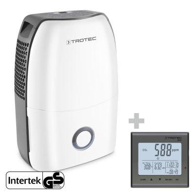 Deumidificatore TTK 60 E + Rilevatore della qualità dell'aria (CO2) BZ25