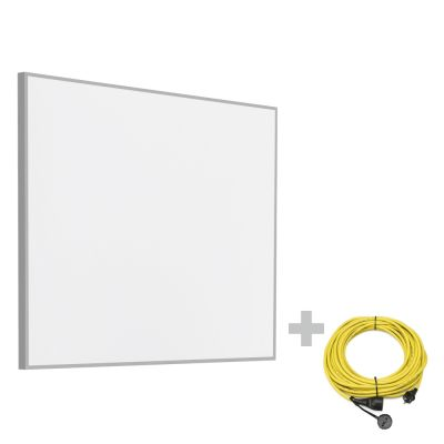Pannello radiante a infrarossi TIH 300 S + Prolunga 20 m / 230 V / 2,5 mm² - Made in Germany