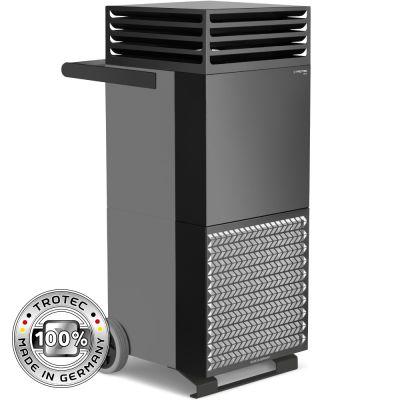 Depuratore d'aria ambiente TAC V+ in grigio basalto/nero Dispositivo dimostrativo