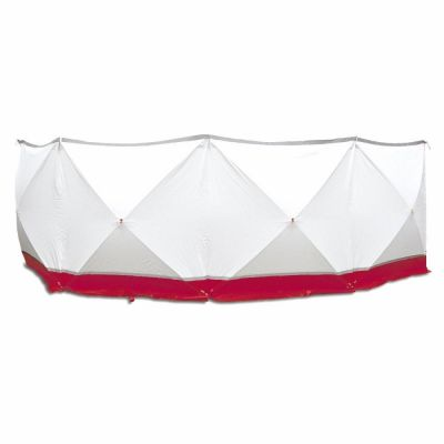 Schermo protettivo mobile 4*180*180 bianco e rosso