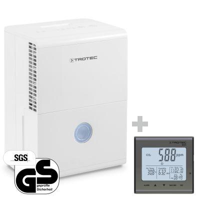 Deumidificatore TTK 28 E + Rilevatore della qualità dell'aria CO₂