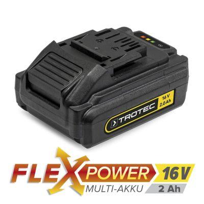 Batteria di ricambio Flexpower 16V 2,0 Ah