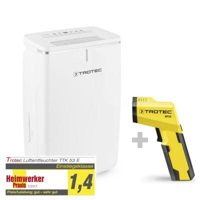 Deumidificatore TTK 53 E + Pirometro-Scanner del punto di rugiada BP25