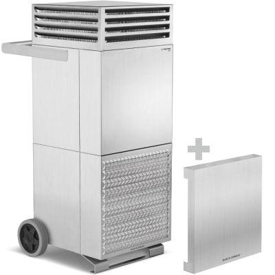 Depuratore d'aria ambiente TAC V+ in acciaio inox + cappa di isolamento acustico