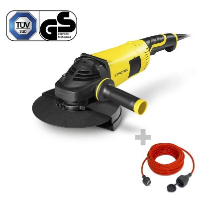 Smerigliatrice angolare PAGS 10-230 + Prolunga di alta qualità 15 m / 230 V / 1,5 mm²