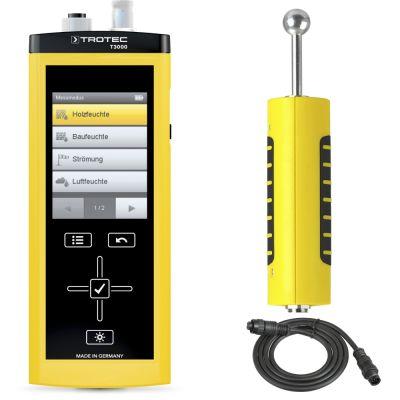 T3000 con sensore per l'umidità del materiale