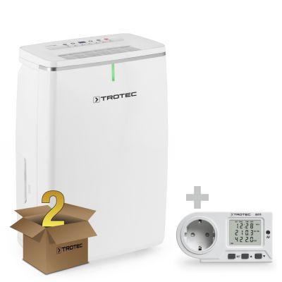 Deumidificatore TTK 72 E (pacco da 2 Unità) + Misuratore di consumo elettrico BX11