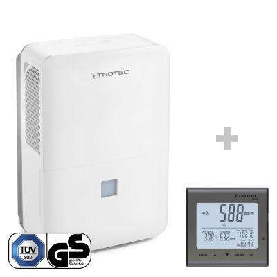 Deumidificatore TTK 127 E + Rilevatore della qualità dell'aria (CO₂) BZ25