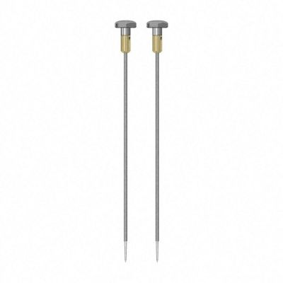 Coppia di elettrodi rotondi isolati TS012/300 4 mm
