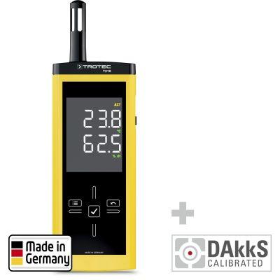 Termoigrometro T210 - calibrato secondo DAkkS D.2102