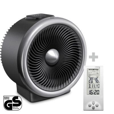 Termoventilatore e ventilatore 2 in 1 TFH 2000 E + Termoigrometro BZ06