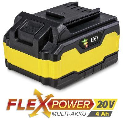 Batteria di ricambio Flexpower 20 V 4,0 Ah