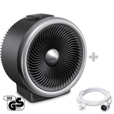 Termoventilatore e ventilatore 2 in 1 TFH 2000 E + Prolunga in PVC