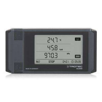 Registratore di dati climatici professionale DL200D antracite