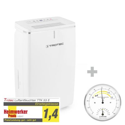 Deumidificatore TTK 53 E + Termoigrometro BZ15M