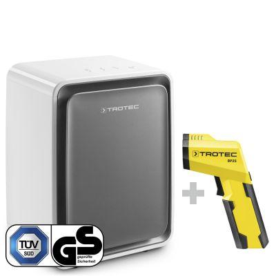 Deumidificatore TTK 24 E WS + pirometro-scanner del punto di rugiada BP25