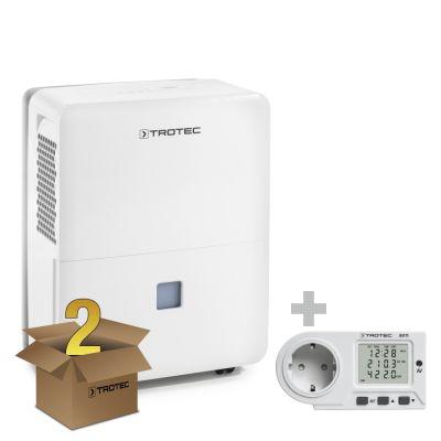 Deumidificatore TTK 96 E pacco da 2 unità + Misuratore di consumo elettrico BX11