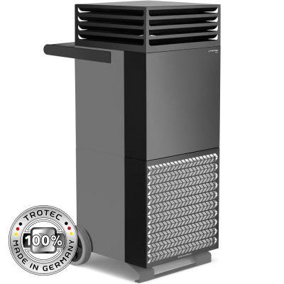 Depuratore d'aria ambiente TAC V+ in grigio basalto/nero