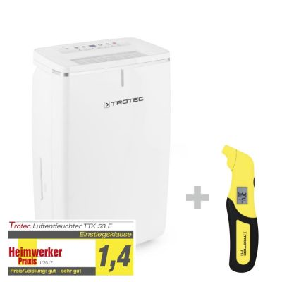 Deumidificatore TTK 53 E + Misuratore di pressione BY10
