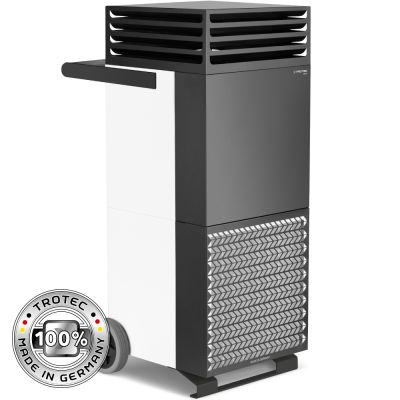 Depuratore d'aria ambiente TAC M in bianco/nero