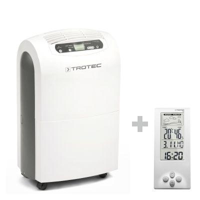 Deumidificatore comfort TTK 100 E + Termoigrometro e stazione meteo BZ06