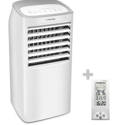 Raffrescatore, ventilatore, umidificatore PAE 40 + termoigrometro e stazione meteo BZ06