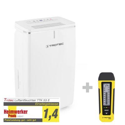 Deumidificatore TTK 53 E + Rilevatore di umidità BM22