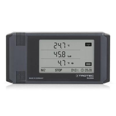 Registratore di dati climatici professionale DL200H antracite