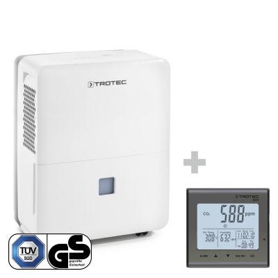 Deumidificatore TTK 96 E + Rilevatore della qualità dell'aria (CO2) BZ25