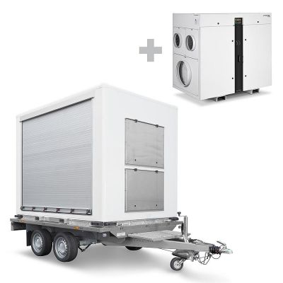 TTR Cargo con deumidificatore ad assorbimento TTR 8200