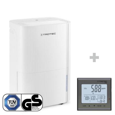 Deumidificatore TTK 54 E + Rilevatore della qualità dell'aria (CO₂) BZ25