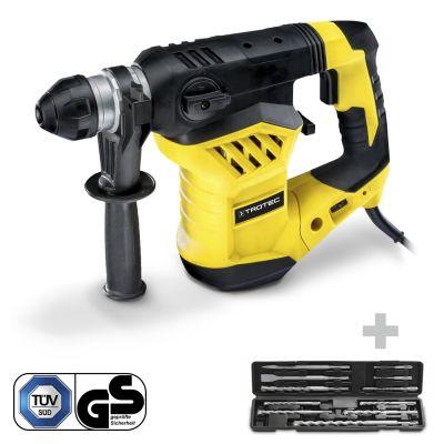 Martello e scalpello pneumatico PRDS 11 230V + Set di accessori per martello e scalpello pneumatico