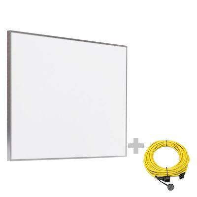 Pannello radiante a infrarossi TIH 500 S + Prolunga 20 m / 230 V / 2,5 mm² - Made in Germany