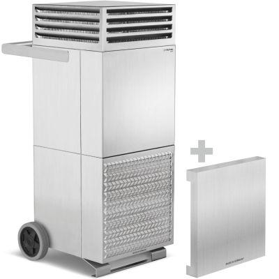 Depuratore d'aria ambiente TAC V+ in acciaio inox + coperchio insonorizzante