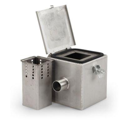 Camera fumogena in acciaio inox V2