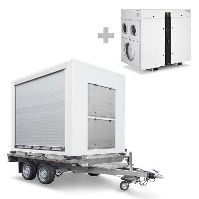TTR Cargo con deumidificatore ad assorbimento TTR 5200