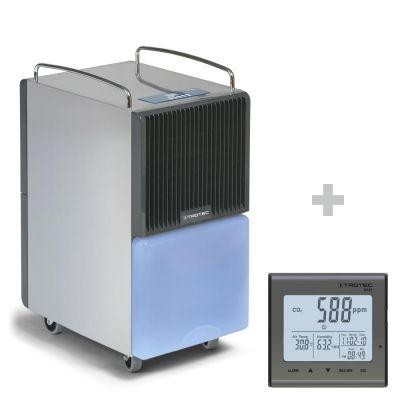 Deumidificatore TTK 122 E + Rilevatore della qualità dell'aria (CO₂) BZ25