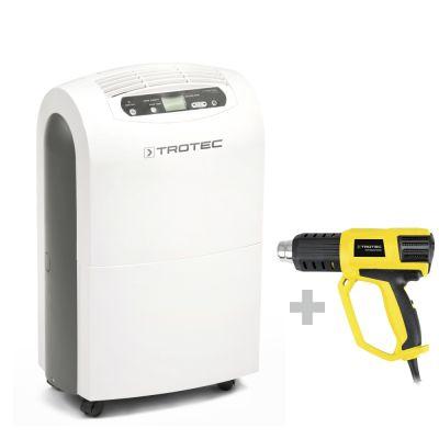 Deumidificatore TTK 100 E + Pistola ad aria calda HyStream 2000