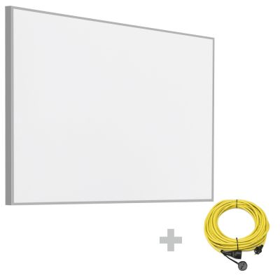 Pannello radiante a infrarossi TIH 900 S + Prolunga 20 m / 230 V / 2,5 mm² - Made in Germany