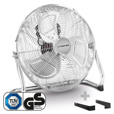 Ventilatore da pavimento TVM 14 + Supporto da parete e soffitto