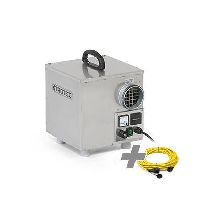 Deumidificatore ad assorbimento TTR 160 + Cavo di prolunga professionale 20 m / 230 V / 2,5 mm²