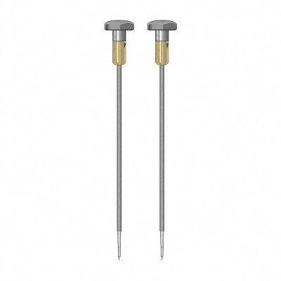 Coppia di elettrodi rotondi isolati TS012/200 4 mm