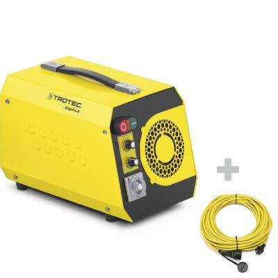 Neutralizzatore di odori AirgoPro 8 + Cavo di prolunga professionale 20 m / 230 V / 2,5 mm²